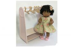 Garderoba dla lalki MIniland 38 cm