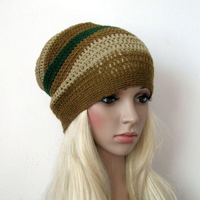 W stylu BOHO - czapka