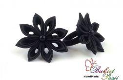 Gumki do włosów czarne