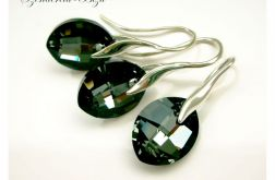 Komplet Swarovski Pure Leaf Silver Night
