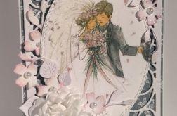 Kartka ślubna z Parą