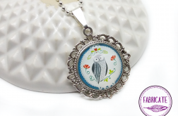 Medalion - sowa - Fabricate