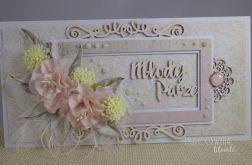 kartka ślubna #1b