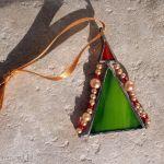 Choinka mini - zestaw 08 - zawieszka świąteczna