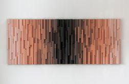 """Mozaika Obraz drewniany 3D """"Vultures_3"""""""