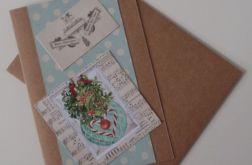 Kartka Boże Narodzenie Kropka