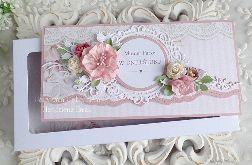 Ślubna kartka w pudełku 478