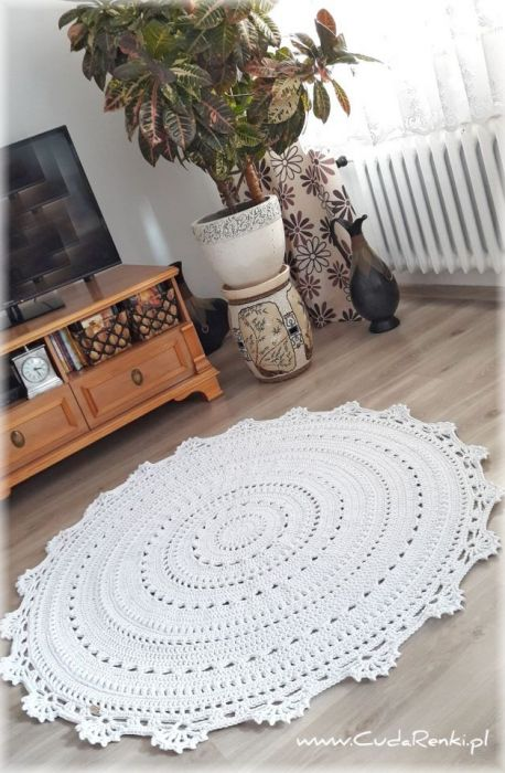 Dywan sznurkowy Mandala (100 cm)