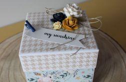 Pudełko niespodzianka - Łóżeczko