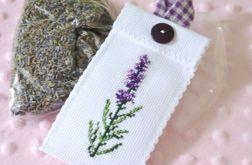woreczek bawełniany na lawendę