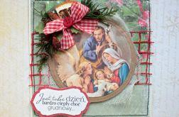 Kartka świąteczna  - Boża Rodzina 8