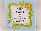 """Wielkanocny """"Keep calm"""" 3"""