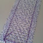 Bieżnik Modern Violet - obrus