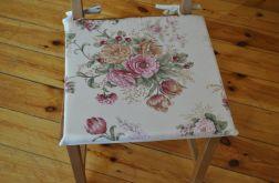 4 poduszki na krzesła Kwiatowy ogród