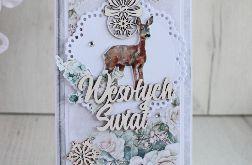 Kartka Boże Narodzenie VintageChristm2 GOTOWA