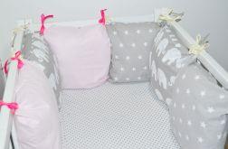 Modułowy ochraniacz do łóżeczka 6 szt N6