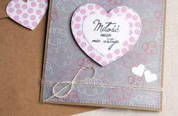 kartka ślubna :: miłość nigdy nie ustaje