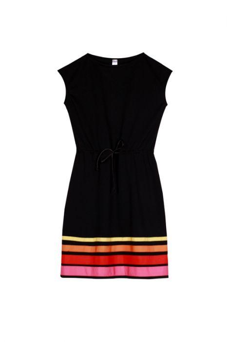 Dzianinowa sukienka folk rozm.S,M,L