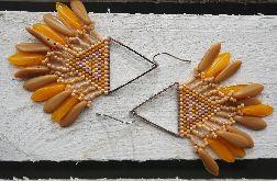 kolczyki 'indiańce' #1