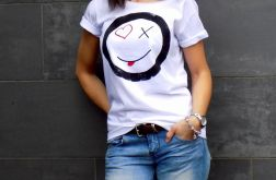 "t-shirt luźny ""HAPPY"""