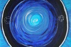 Obraz medytacyjny - Strażnik snów - akrylowy - akryl na płótnie