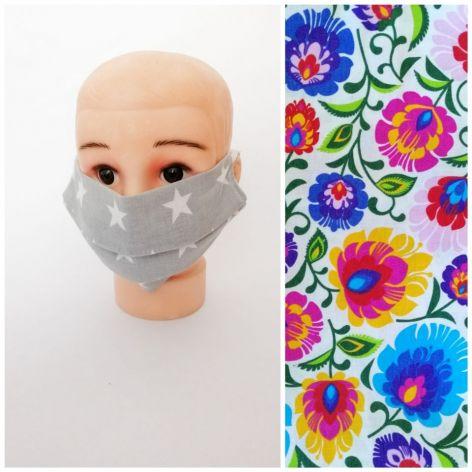Maseczka bawełniana,na twarz,dorosły/dziec,3