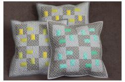 Poduszka dekoracyjna, patchwork