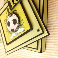 Kartka piłkarska :-)