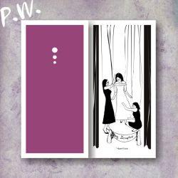 Elegancka Karteczka na Ślubne Życzenia DL