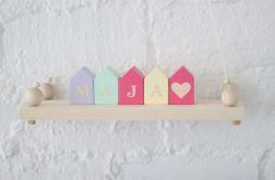Klocki domki - małe