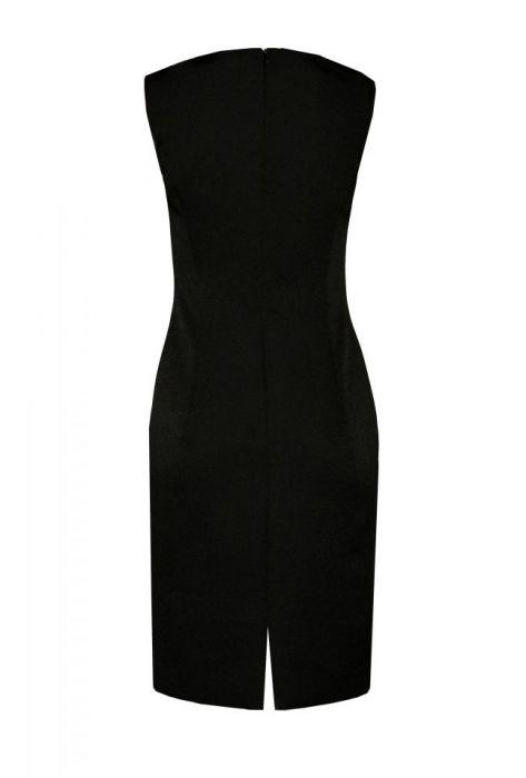 a6e835172b klasyczna sukienka MONIQUE   czarna - RAHRI