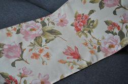 Ładny kremowy bieżnik w magnolie - 42 x 120 cm
