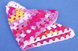 Multikolor mała chusta dla córeczki