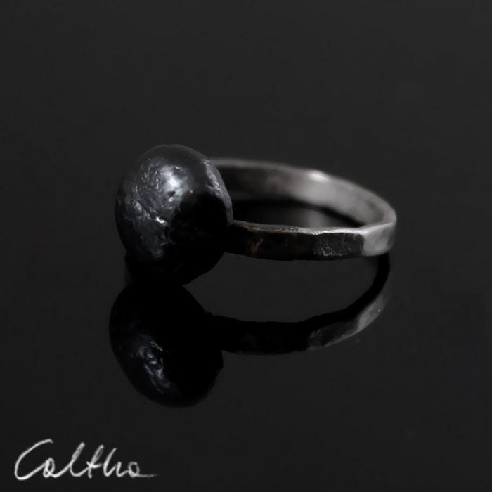 Srebrny pierścionek rozm. 12 - 151014-01