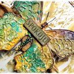 Motyl - kartka uniwersalna -