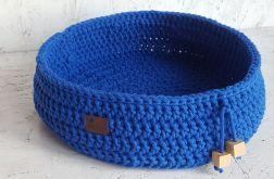 Legowisko niebieskie dla kota, psa
