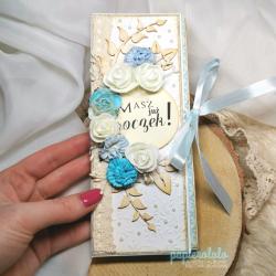 CZEKOLADOWNIK pudełko na małą czekoladę - idealny na tradycyjną czekoladę 100g prezent na roczek