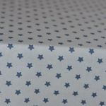 Obrus biały małe gwiazdki