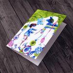 Piniata... karteczka na życzenia -
