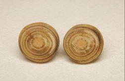 Spinki do mankietów eko ( drewniane)