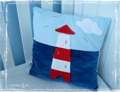 Poduszka marynistyczna 'Latarnia morska' (dwustronna)