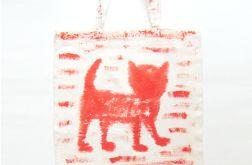 Bawełniana torba z kotem nr4