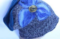 czesanką filcowane czapki wełnianeD1