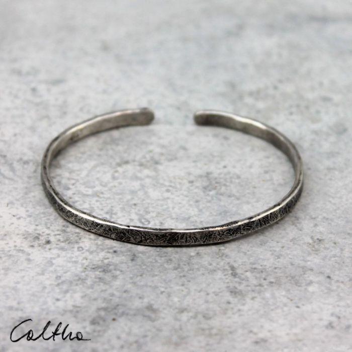 Cienka - srebrna bransoleta 190811-08 - Cienka bransoletka