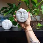 Okrągły dekor twarz - 4