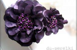 opaska fioletowa kwiat