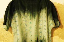 Bluzka jedwabna ręcznie malowana - Jewel