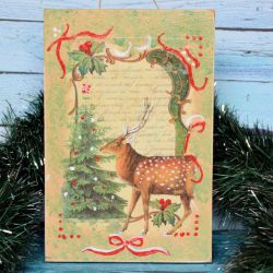 Obrazek - Jelonek - Boże Narodzenie