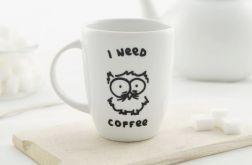 Kubek I need coffee