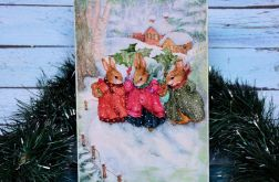 Obrazek - Zimowe zajączki
